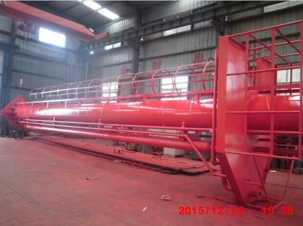 发往福建中石油公司的用于码头的炮塔设备!