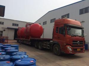 中化弘润石油储运(潍坊)有限公司平衡式比例混合装置不锈钢常压储罐)发货图片