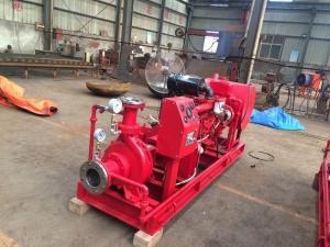 中铁龙禹柴油机消防泵组和压力式比例混合装置